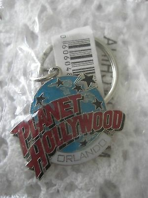 Key Chain Planet Hollywood Orlando Vintage In Plastic Wrapping