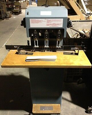 Spinnit FMM-3 3 Hole Paper Drill by Lassco