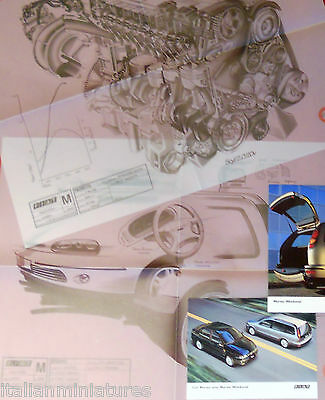 Fiat Marea Engine and Design Large Drawings Centro Stile x 2 + Photographs x 2