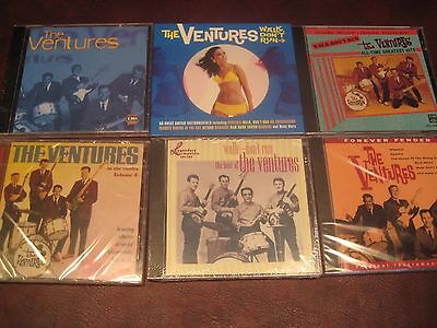 THE VENTURES NOTHING BUT Best Of & GREATEST HITS Sealed 9 CDSET 226 TOTAL TRACKS
