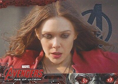 88 Scarlet Witch #88 Wanda Maximoff Silver Foil Parallel Avengers Age of Ultron