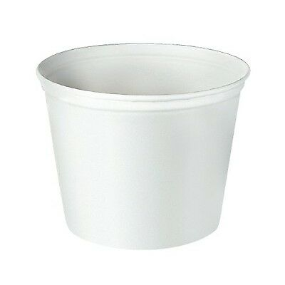 "SOLO 10T1-N0198 Unwaxed Double-Wrapped Paper Bucket 165 oz. Capacity 8.3""... New"