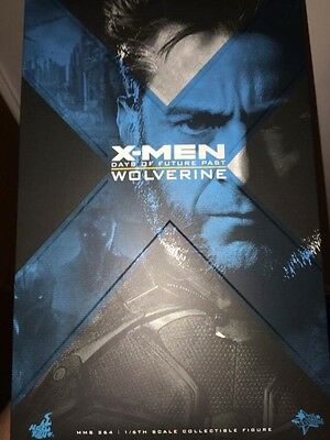 """Hot Toys Days Of Future Past Wolverine 12"""" 1/6 Figure"""