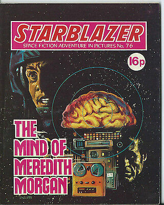 The Mind Of Meredith Morgan,starblazer Space Fiction Adventure In Pictures,no.76