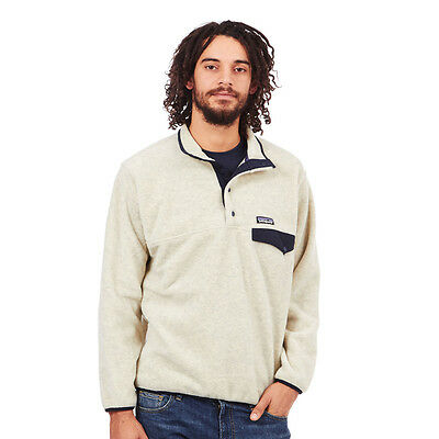 Patagonia - Synch Snap-T Pullover Oatmeal Heather Rundhals