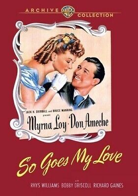 So Goes My Love [New DVD] Manufactured On Demand