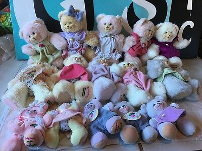 Fisher Price Lot of 15 Briarberry Berry Bears Plush