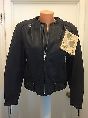 Harley-Davidson Leather Jacket Perforated Race Vented 98115-98VW  Women's M