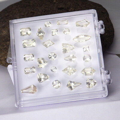 GOLDEN OREGON SUNSTONE 13.4Ct TW JEWELRY BOX-AS SORTED CUTS