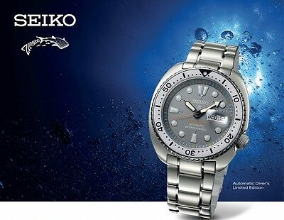 RARE New Seiko Zimbe Turtle Grey Limited Edition SRPA19 SRPA19K1 #/1299 Pcs only