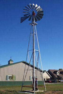 8ft A-702 Windmill with 21ft Tower