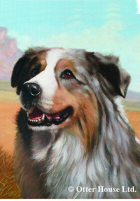 Garden Indoor/Outdoor Portrait Flag - Australian Shepherd (JS)  500591