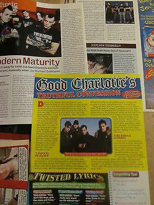 Good Charlotte, Lot of TWO Clippings