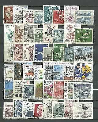 Sweden, Used, 48 Various