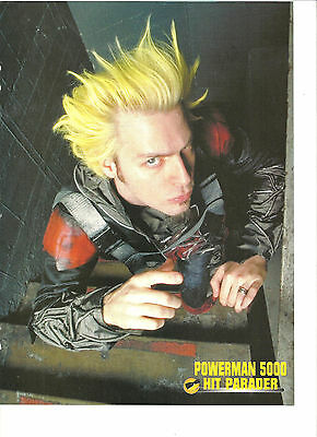 Powerman 5000, Spider One, Full Page Pinup