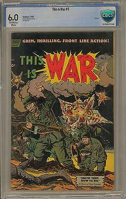 This Is War #5 CBCS 6.0 (OW-W)