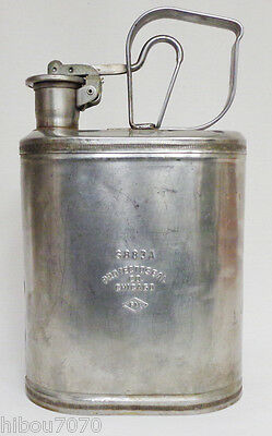 Vtg Protectoseal S883A Stainless Steel Explosion Proof Safety Gallon Fuel Can