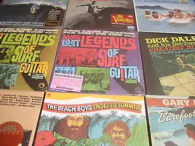 VENTURES DIMENSIONS LEGENDS DALE COLE LIMITED SURF MUSIC Analog Sealed 42 LP SET