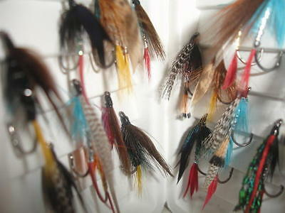 Sea Trout Fishing Fly Selection Single Hook 20 pieces