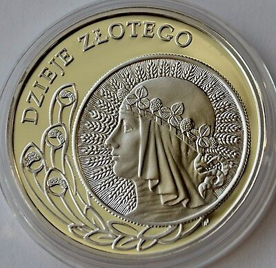 Poland 10 Zlotych, 2006, Queen Jadwiga, History of Polish Zloty, Silver Proof