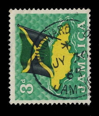 "Jamaica - 1965 - ""windward Road / Jamaica"" Circle Date Stamp On Sg 221"