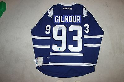Doug Gilmour signed autograph Toronto Maple Leafs reebok jersey