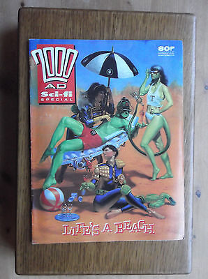 2000AD Sci-fi SPECIAL 1989 LIFE'S A BEACH CRIME BLITZ! A JUSTICE DEPT SIMULATION