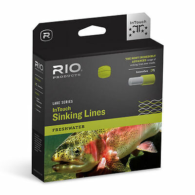Rio In Touch Intouch Deep 3 Wf-7-S-3 #7 Wt. Forward Type 3 Full Sinking Fly Line
