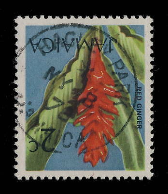 "JAMAICA - 1978 "" HAGLEY PARK / JAMAICA "" SINGLE CIRCLE DATE STAMP /2c red ginger"