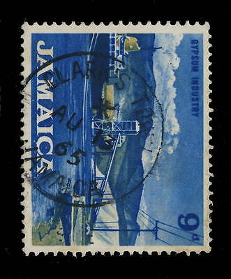 "Jamaica - 1965 "" Clark's Town / Jamaica "" Single Circle Date Stamp On Sg 225"