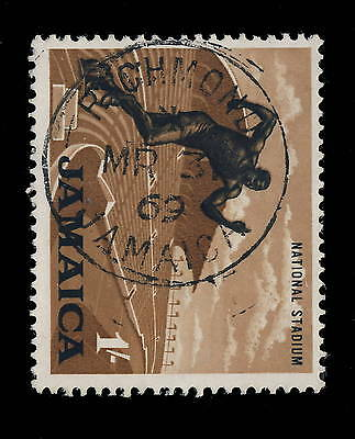 "Jamaica - 1969 "" Richmond / Jamaica "" Single Circle Date Stamp On Sg 226"