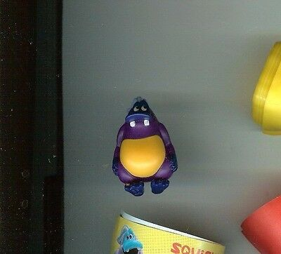 Yowie US Chocolate Egg Brand Collectible Mini Figure: SQUISH Yowie