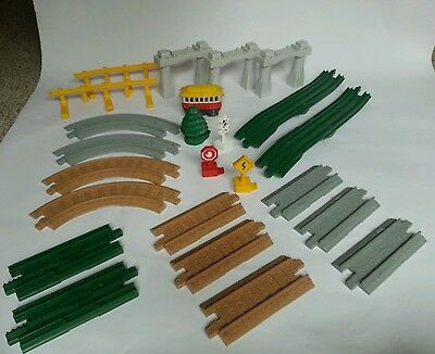 Geotrax Rail & Road System 24 pc Toys R Us Excl. Track Pack w/ Trolley