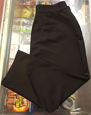 Nine West Jeans Black Dress Slacks Size 12  12/31