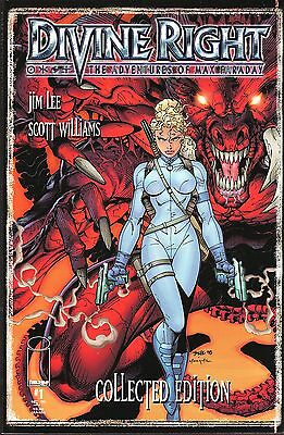 Divine Right (The Adventures of Max Faraday) Collected Edition No.1 1998 Jim Lee