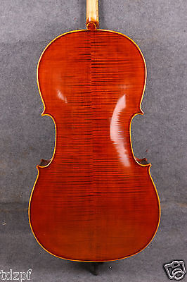 new cello 4/4 Top grade full size Cello Solid wood Powerful Sound hand made #618