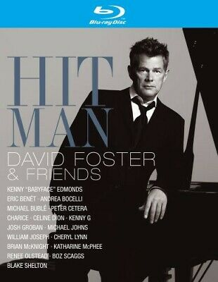 Hit Man: David Foster & Friends / Various [New Blu-ray]