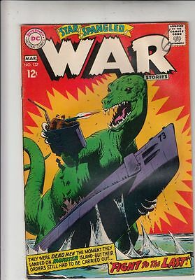Star Spangled War Stories 137 strict VG+ 4.5  ~pay 1st shipping fee @Kermitspad!