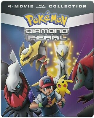 Pokemon Diamond And Pearl Movie 4-pack [New Blu-ray] Boxed Set, Full Frame, St