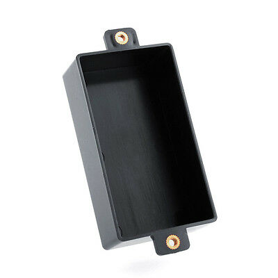 Black Plastic Sealed Humbucker Pickup Cover Case Shell For Guitar Parts