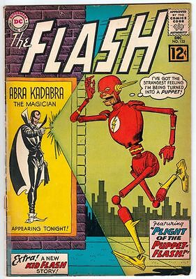 Flash #133 The strict VG+ 4.5 B Appearance -  Kid Flash story   100s more up now