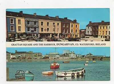 Grattan Square & Harbour Dungarvan Waterford 1974 Ireland Postcard 910a
