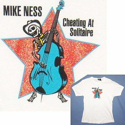 Mike Ness/social D! Cheating @ Solitaire Jnr T-Shirt Os