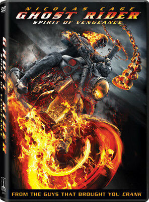 Ghost Rider Spirit of Vengeance [New DVD] UV/HD Digital Copy, Widescreen, Ac-3