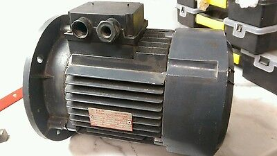 motor 3kW 4HP  E.L.D 1430rpm 3 phase