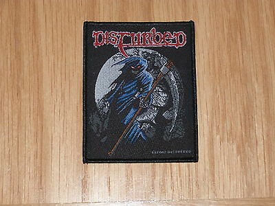 Disturbed - Reaper (New) Sew On W-Patch Official Band Merchandise