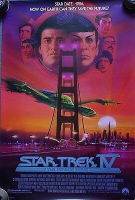 Star Trek - The Voyage Home ADV(1986)US 1 Sheet Movie Poster 27 x 40 inches