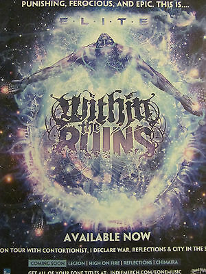 Within the Ruins, Elite, Full Page Promotional Ad
