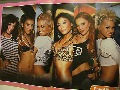 Pussycat Dolls, High School Musical, Double Two Page Centerfold Poster Zac Efron