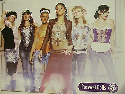 Pussycat Dolls, Black Eyed Peas, Double Full Page Pinup